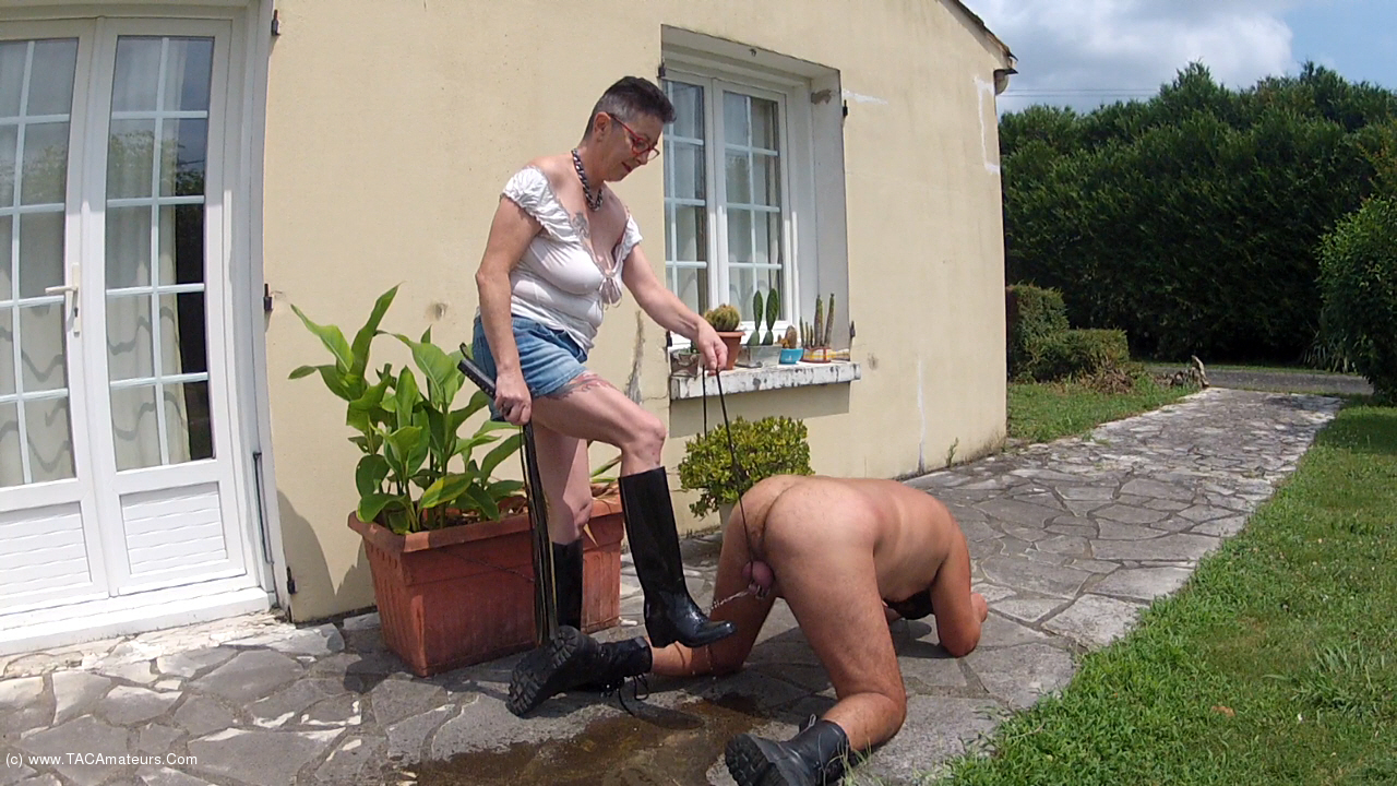 MaryBitch - Piss On My Rubber Boots & Lick scene 0