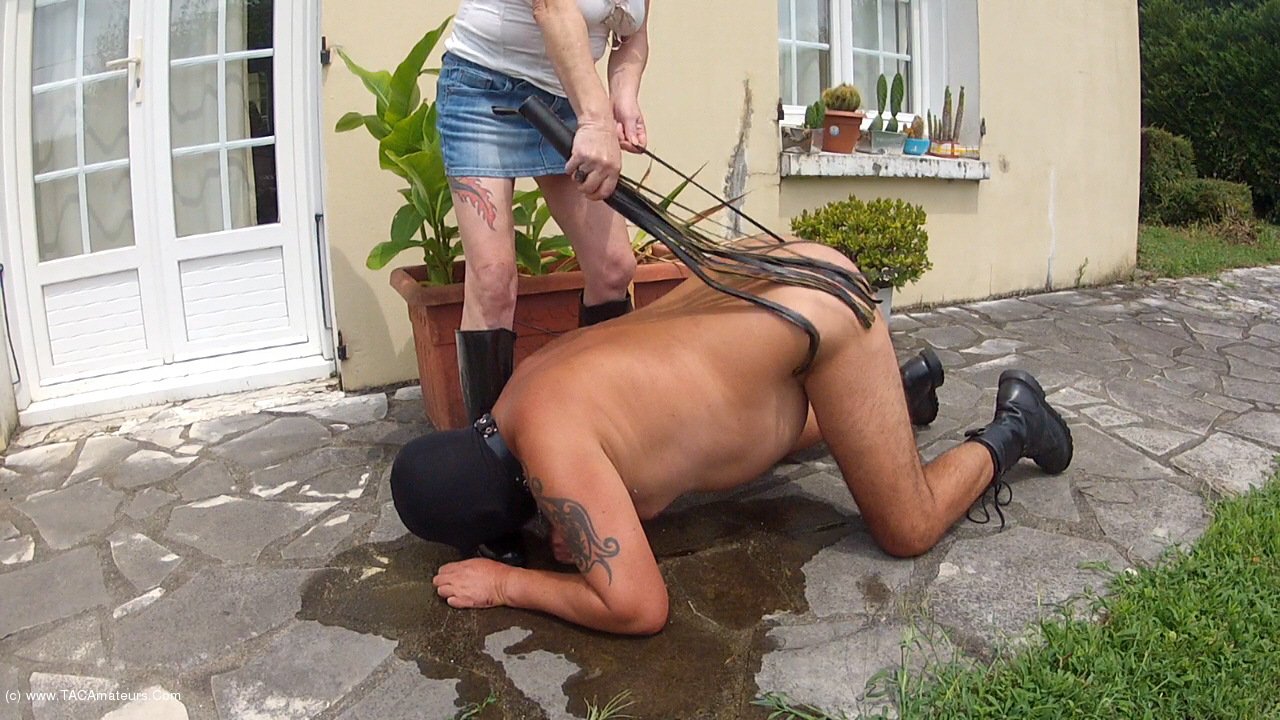 MaryBitch - Piss On My Rubber Boots & Lick scene 1