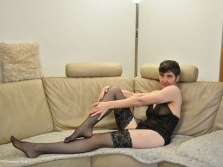 Hot Milf - Black Nylons Pt1 Picture Gallery
