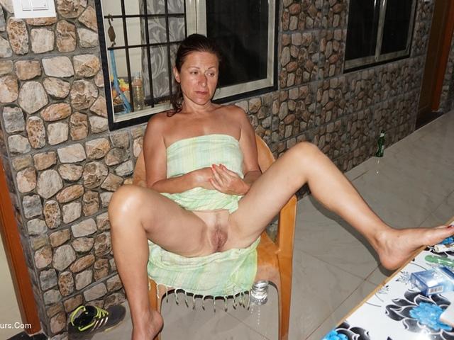 Balcony Striptease Pt1