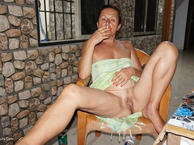 DianaAnanta - Balcony Striptease Pt2