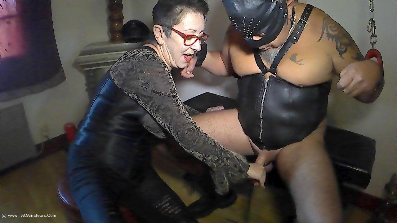MaryBitch - Stretching Nipples Balls & Masturbation Pt3 scene 3