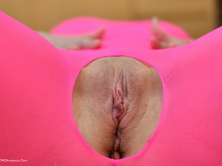 HotMilf - Pink Catsuit Pictures