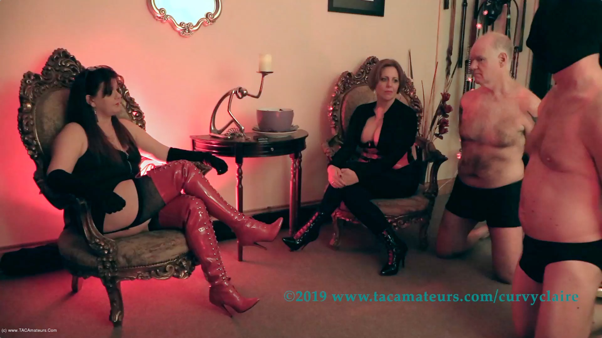 CurvyClaire - Domminatrix Time Pt1 scene 0