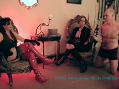 CurvyClaire - Domminatrix Time Pt1 HD Video
