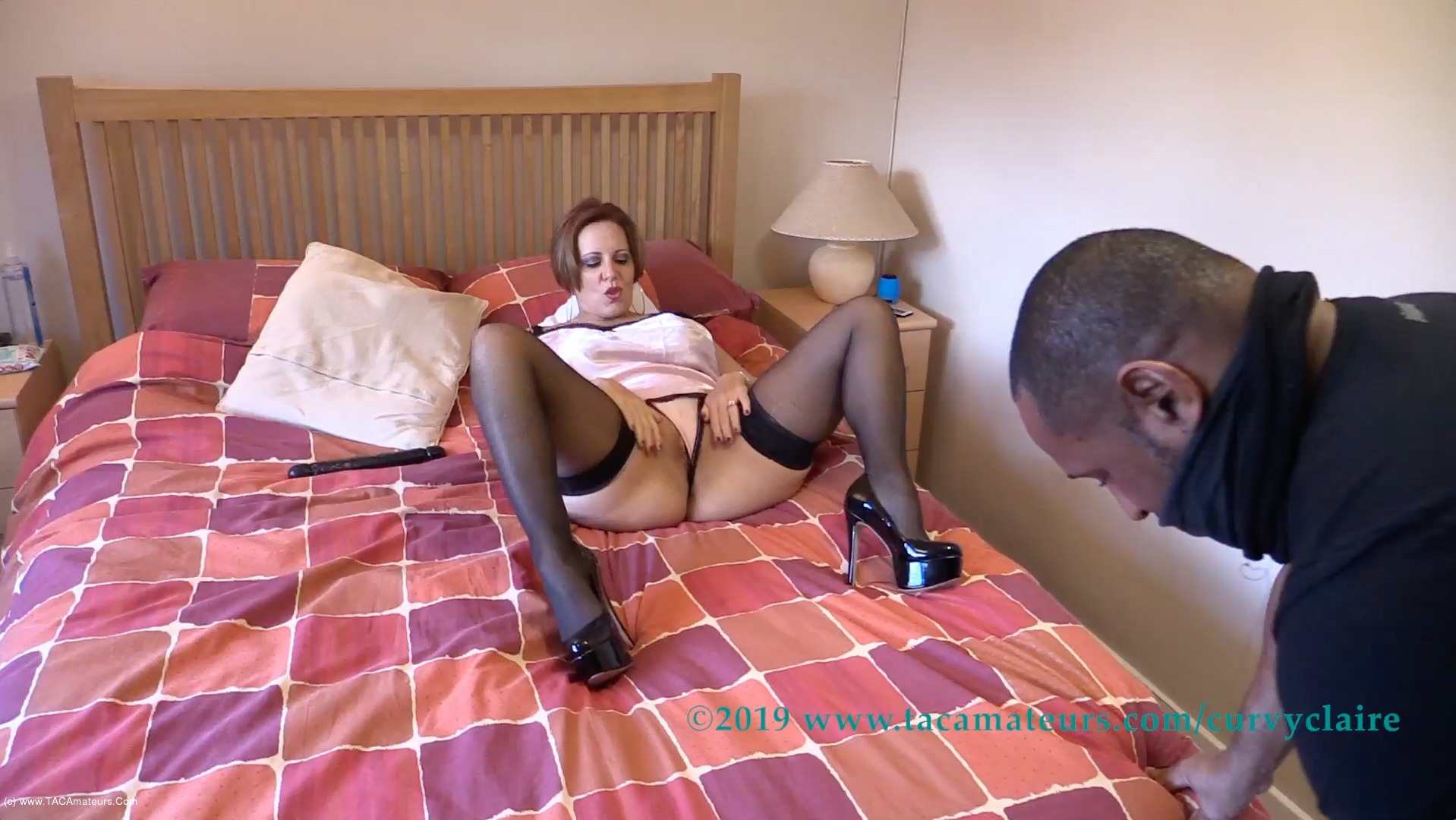 CurvyClaire - Claire's Masked Robber Pt1 scene 0
