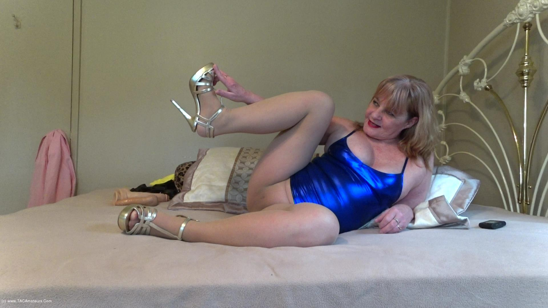 CougarBabeJolee - Sultry In PVC & Pantyhose Pt2 scene 0