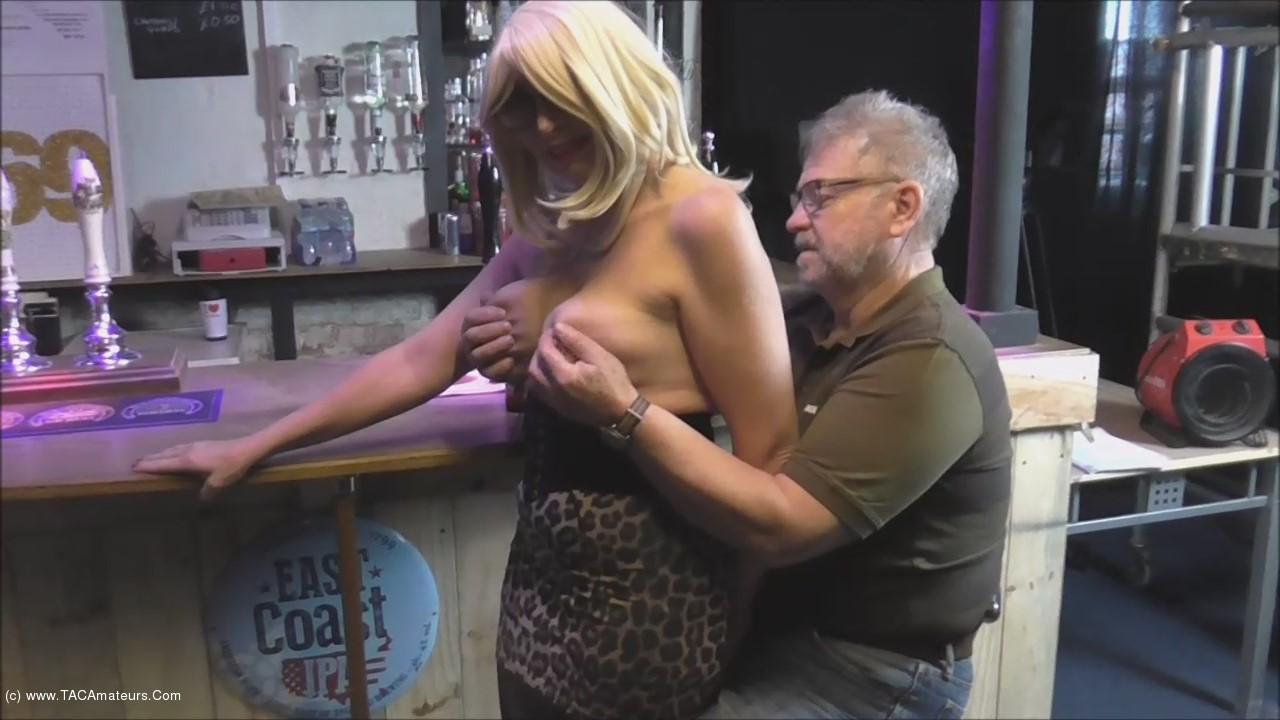 BarbySlut - Barby The Topless Barmaid scene 2
