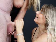 SweetSusi - Three Some Cock Milking At The Photo Shoot Photo Album