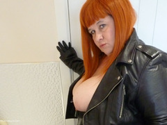 MrsLeather - Leather Rock Chick Pt1 Photo Album