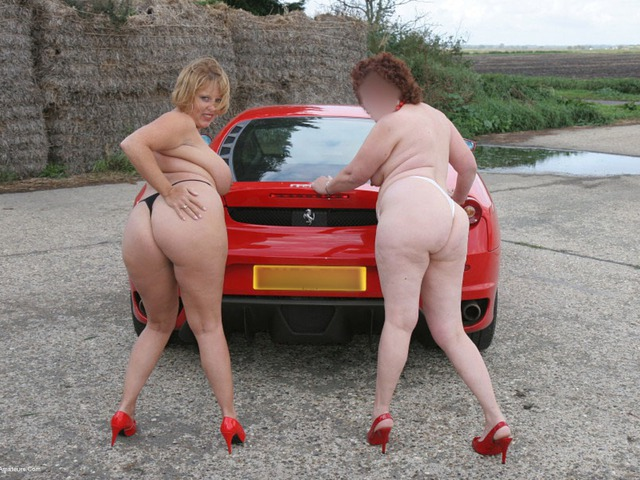 CurvyClaire - Little Red Sports Car Pt4