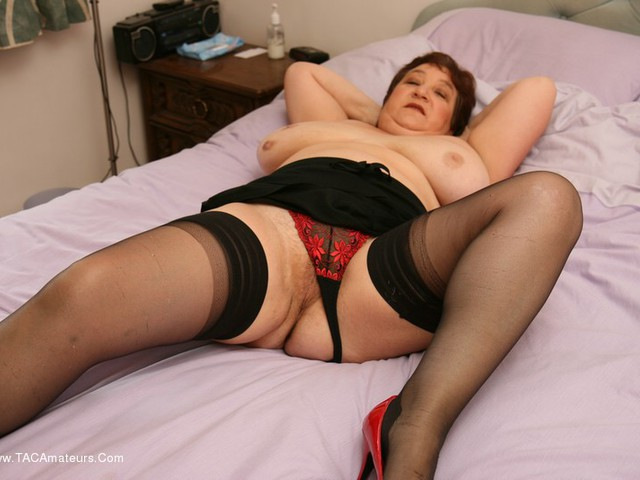 Stockings On The Bed Pt2