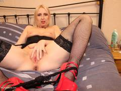 TraceyLain - Leather Corset Pt1 HD Video