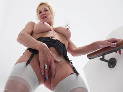 Molly MILF - On The Stairs Pt2 HD Video