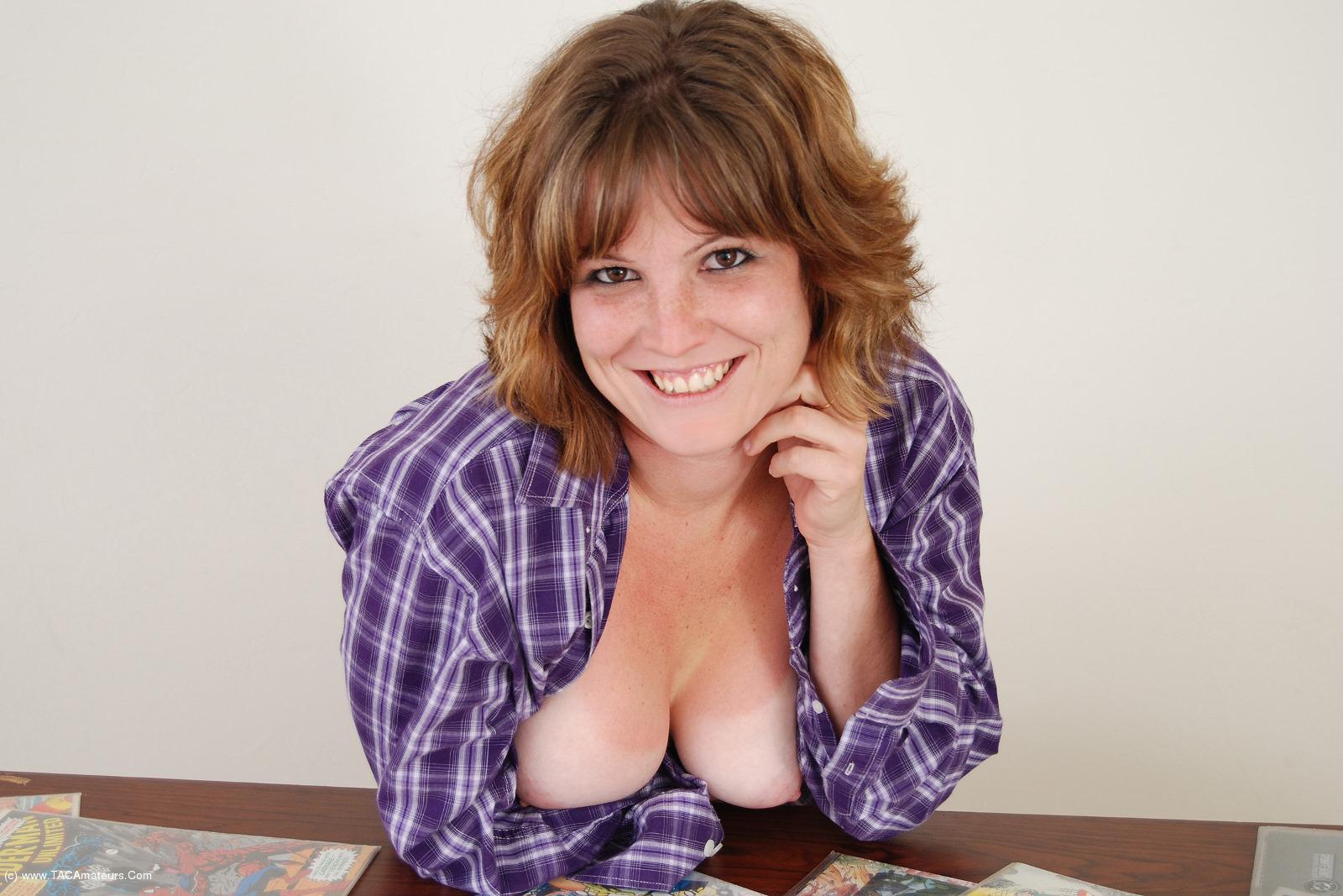MistyB - Tits and comic books video scene 1