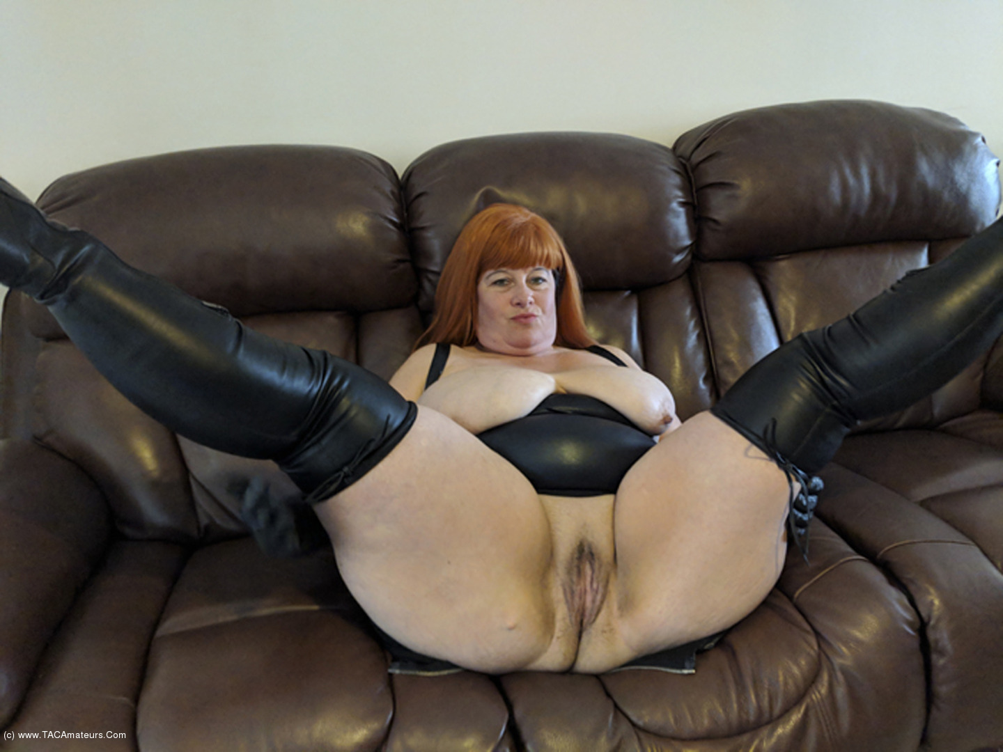Mrs Leather - Kinky Leather Boots Gallery-8605