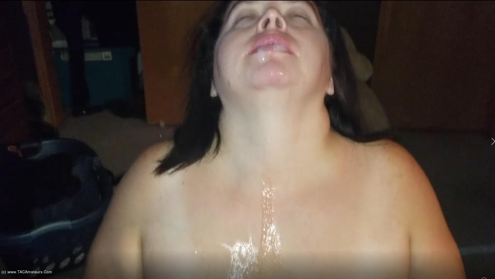 SexyNEBBW - Sexy NEBBW Gives Sloppy BJ & Swallows scene 3