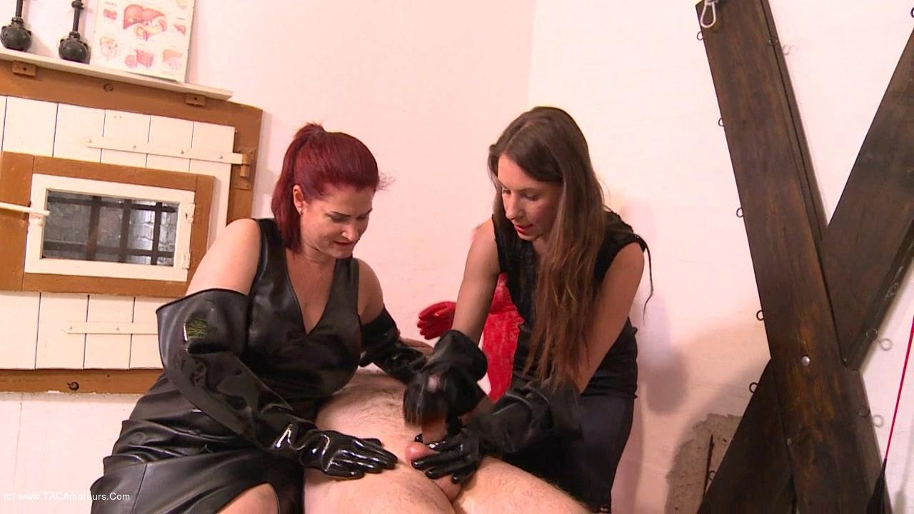 AngelEyes - Rubber Gloves Girls Pt2 scene 0
