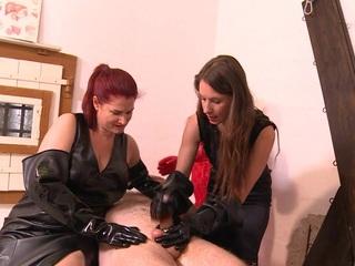 Rubber Gloves Girls Pt2