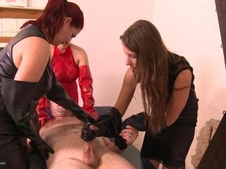 Rubber Gloves Girls Pt3