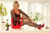 Molly-MILF - Red Dress In The Window Pt1 Free Pic 1