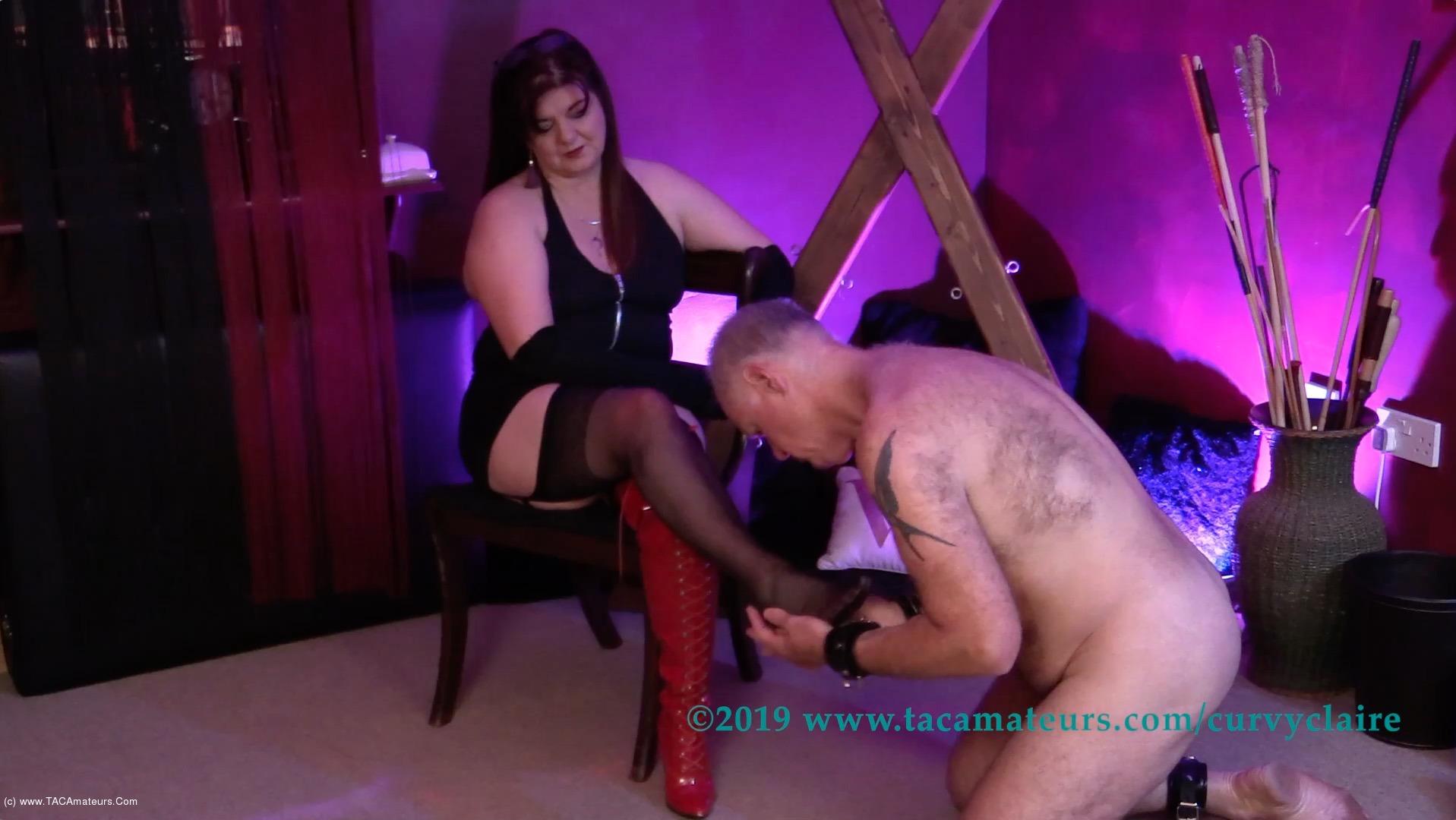 CurvyClaire - Bondage Training Pt1 scene 1