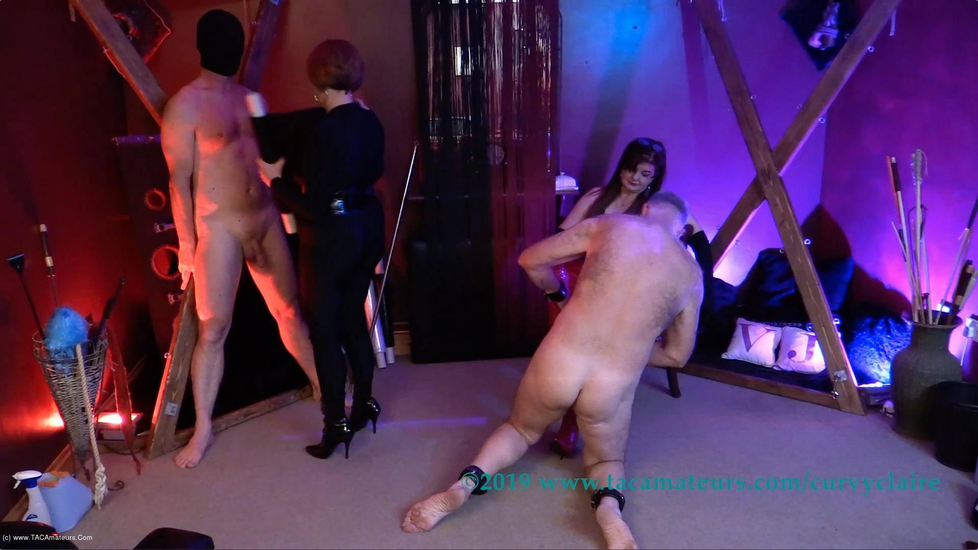 CurvyClaire - Bondage Training Pt1 scene 2