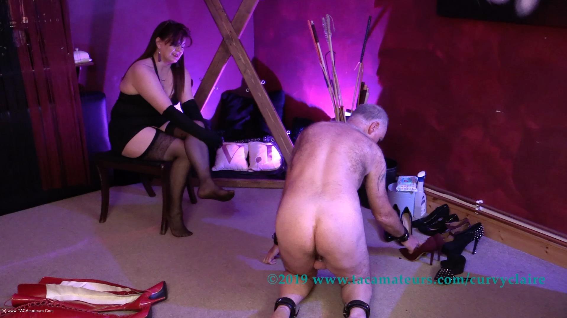 CurvyClaire - Bondage Training Pt2 scene 3