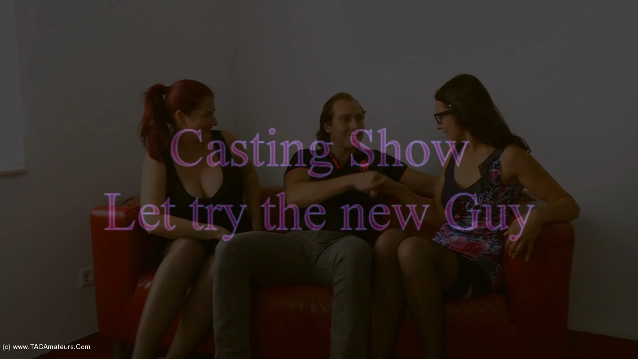 AngelEyes - Casting Show, Let Us Try The New Guy Pt1 scene 1