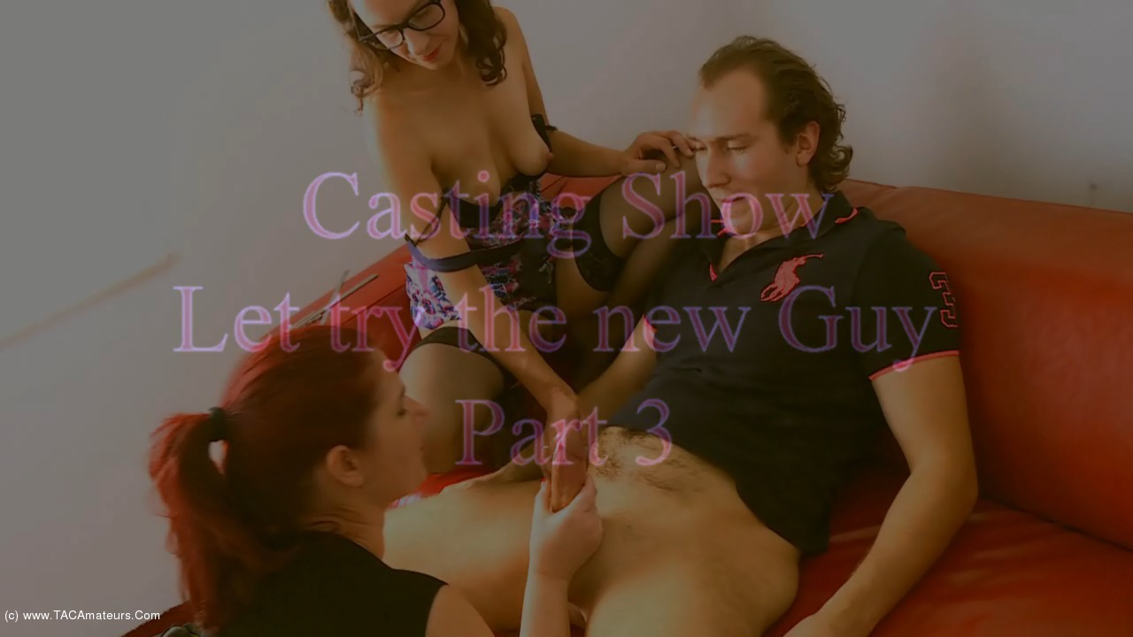 AngelEyes - Casting Show, Let Us Try The New Guy Pt3 scene 1