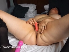 Juicey Janey - Dildo Pissing Cock Sucking HD Video