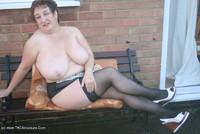 Kinky-Carol - White Mini & Stockings Pt2 Free Pic 1