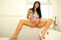 Raunchy-Raven - Beautiful Raven Naked In Her Bathroom Pt1 Free Pic 4