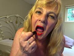 CougarBabe Jolee - Mesmerised By My Sweet Red Lips HD Video