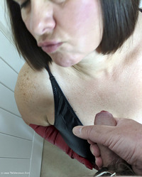 Mrs-Leather - I Get A Full Facial Pt1 Free Pic 4
