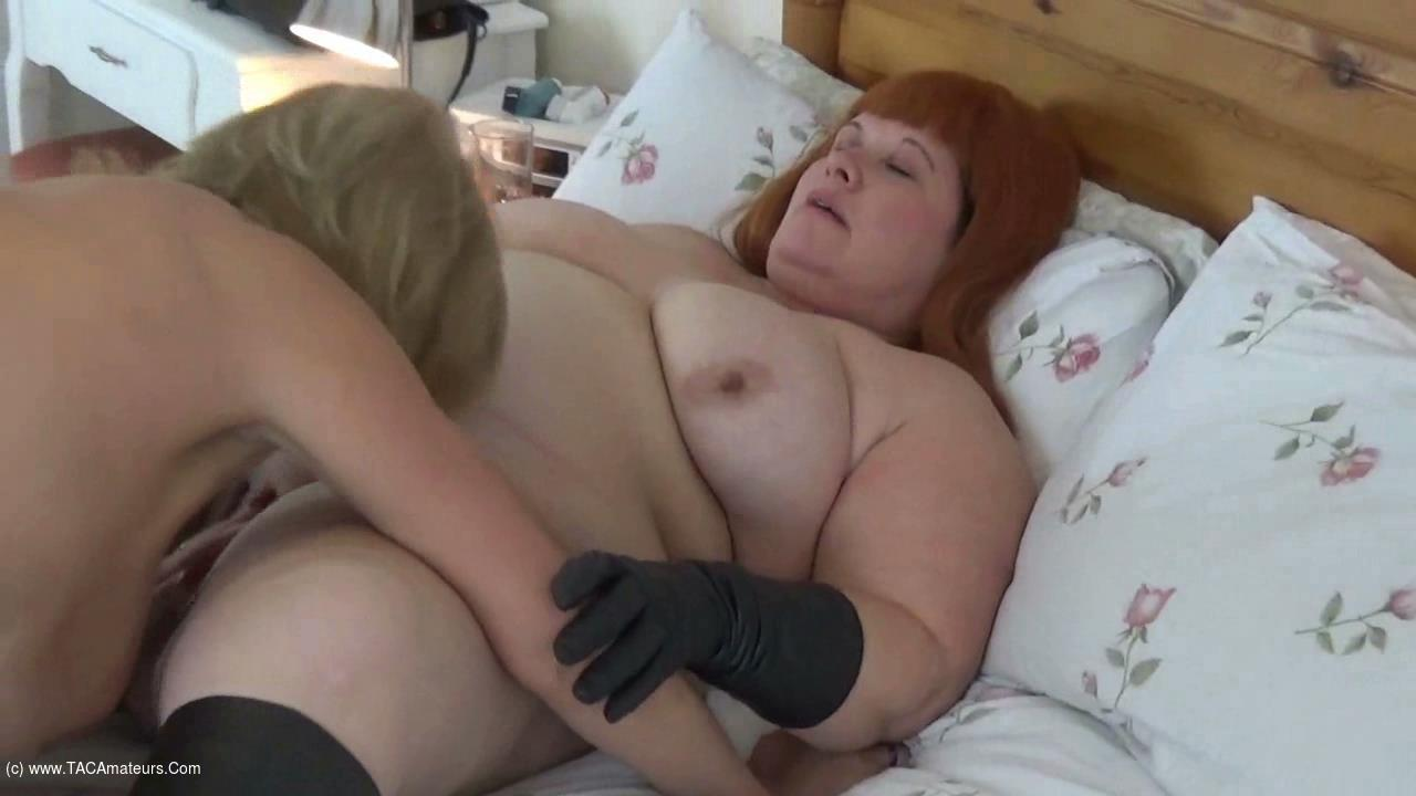 Dimonty - Dimonty & Mrs Leather Pussy Sucking video
