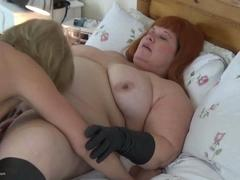 Dimonty - Dimonty & Mrs Leather Pussy Sucking HD Video