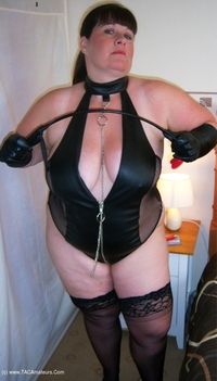 Mrs-Leather - Mistress Leather Loves A Hard Cock Pt1 Free Pic 3