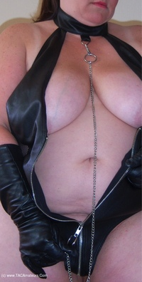 Mrs-Leather - Mistress Leather Loves A Hard Cock Pt1 Free Pic 4
