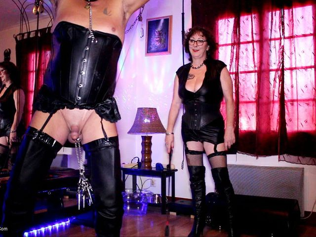 Stretching Balls & Arse Whipping Pt1