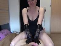Gloved Hand Job
