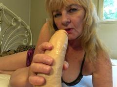 CougarBabe Jolee - Spit Drool Blowjob POV Style HD Video