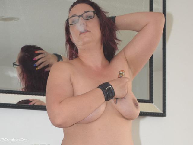 Jenna J Smokes In Stockings