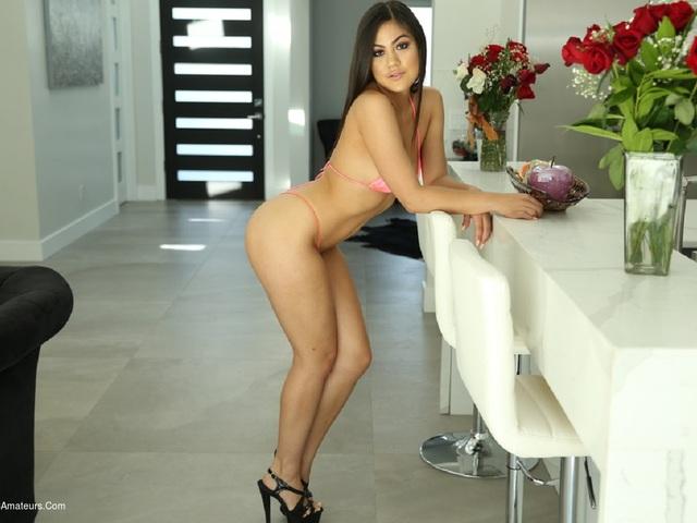 KendraSpade - Bikini In The Living Room