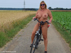 Nude Chrissy - Bike Tour HD Video