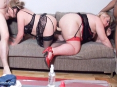 Lexie Cummings - Double Ender On The Sofa HD Video