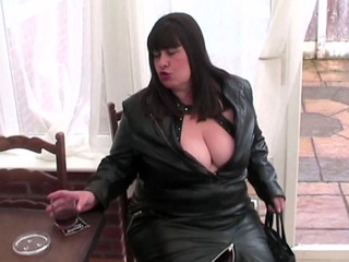 Mrs Leather - BJ For The Handyman Pt1 HD Video
