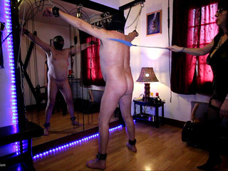 Mary Bitch - Whipping My Naked Male Slave Pt1 HD Video