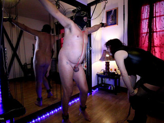 Mary Bitch - Whipping My Naked Male Slave Pt2 HD Video