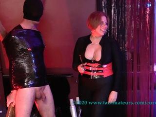 Curvy Claire - BDSM Fun With Mistress VJ Pt1 HD Video